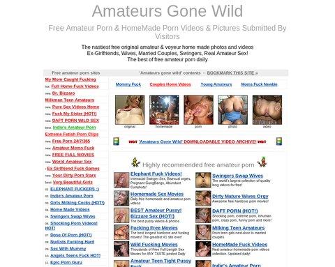 Screenshot Amateurs Gone Wild
