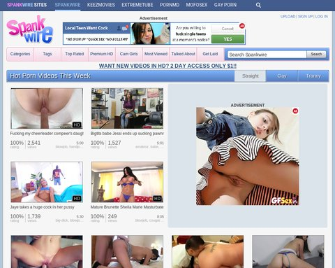 Screenshot Spankwire